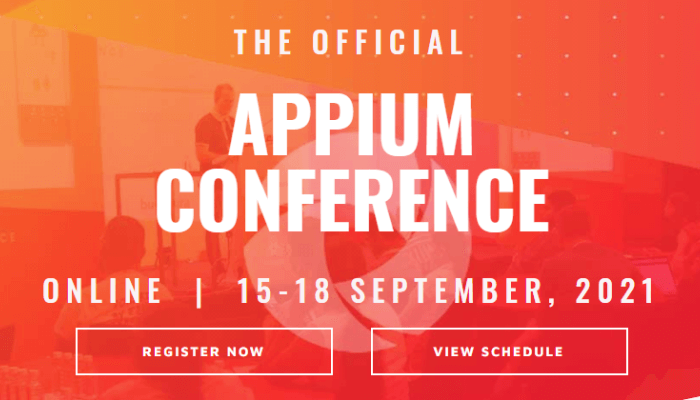 Official Appium Conference 2021